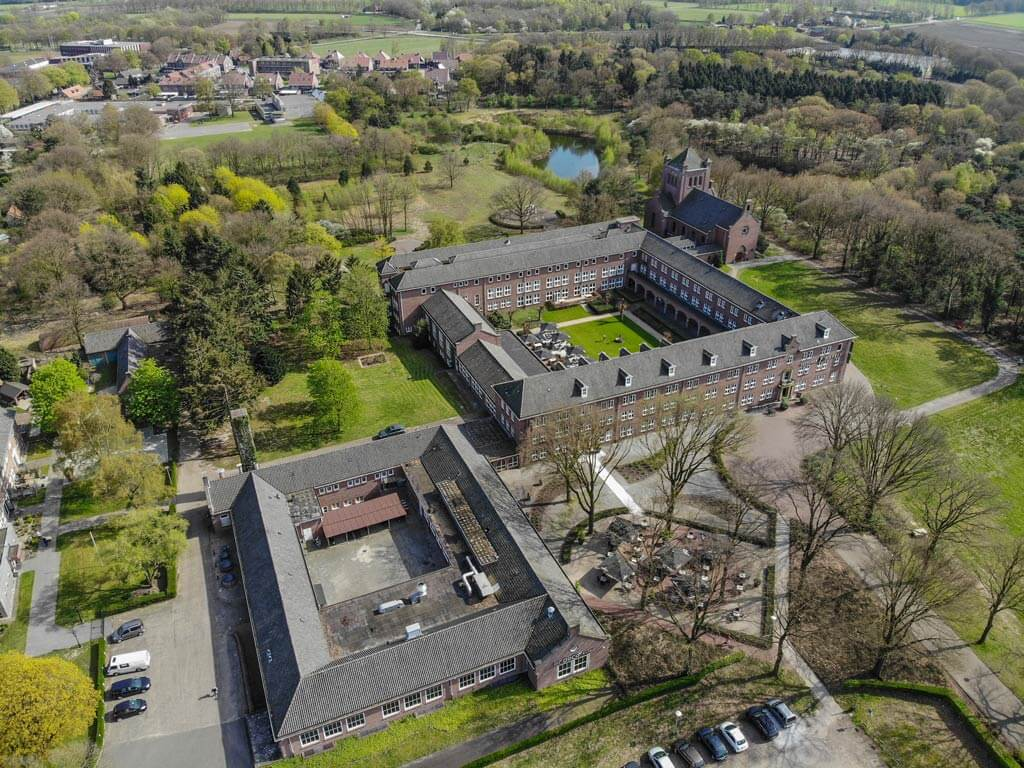 willibrordhaeghe pand luchtfoto